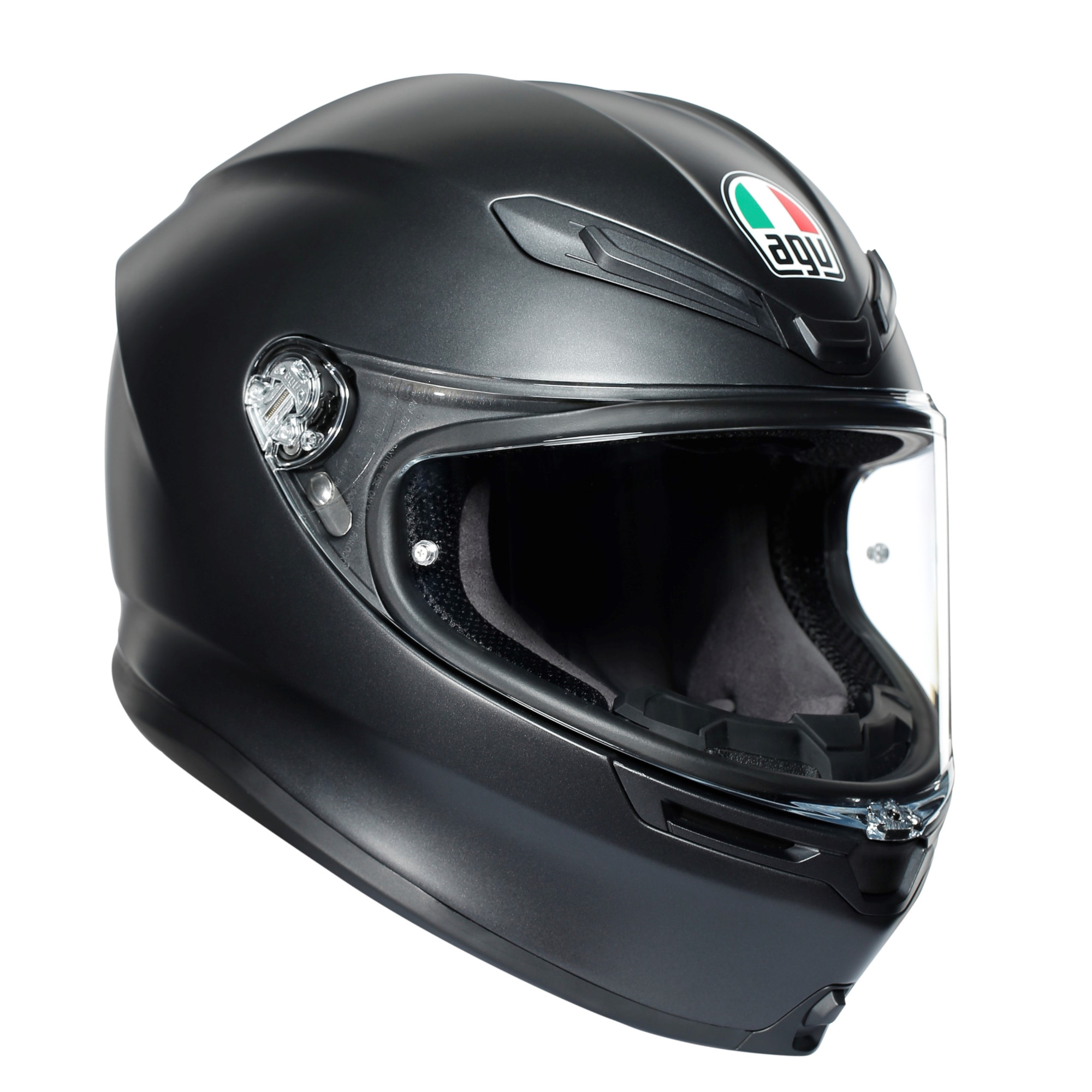White, Large AGV Unisex-Adult Flip-Up-Helmet-Style Numo Helmet